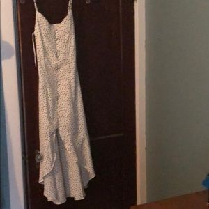 Sienna sky polka dot dress never worn